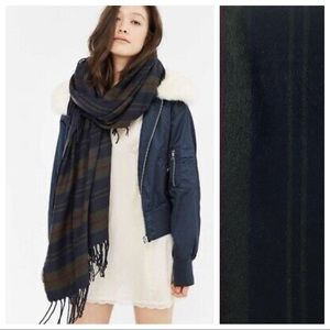 Urban Outfitters Large Plaid Scarf